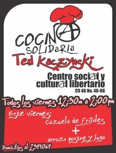 Cocina Solidaria - Menú 19 de agosto