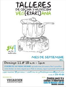 Taller de Cocina y Nutrición Veg(etari)ana