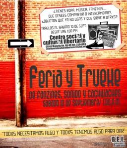 Feria y Trueke de Fanzines, Sonido y Cachivaches